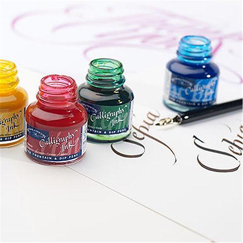 W & N Calligraphy Inks