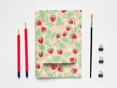 Pebble Paper Design | Notebook | Strawberry