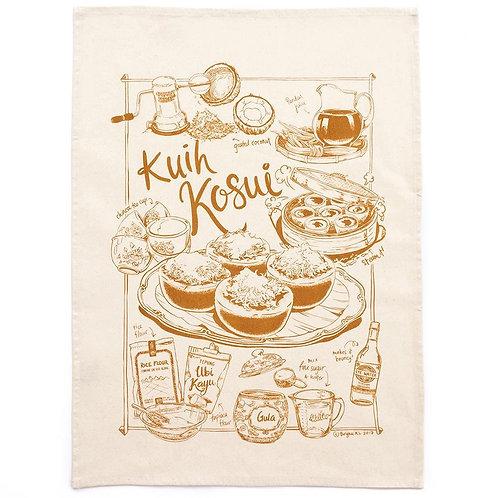 Bingka | Tea Towel | Kuih Kosui Gula Melaka