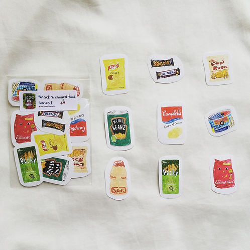 Fish Koou | Stickers | Snack & Canned Food Series I
