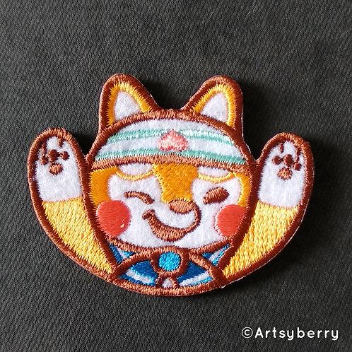 Artsyberry | Iron On Patch | Shiba Chan