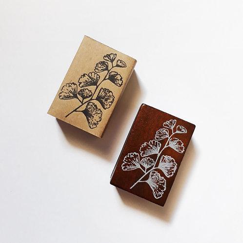 Paper Plans | Stamp | Silver Leaf