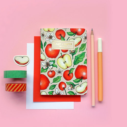 Salt x Paper | Notebook | Cherries, Apples & Apple Blossoms
