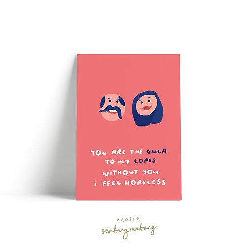Projek Sembang Sembang | Postcards | Lopes