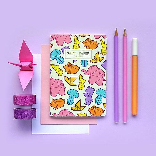 Salt x Paper   Notebook   Origami Animals