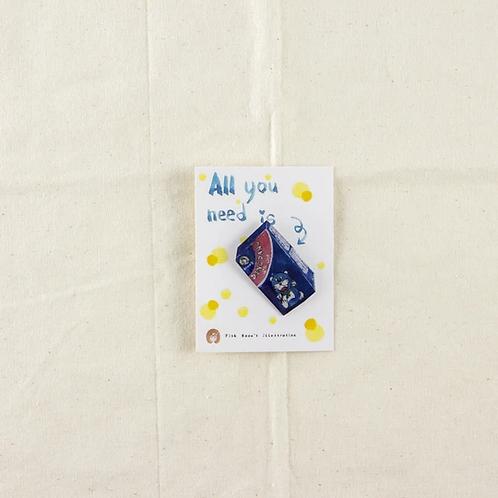 Fish Koou | Epoxy Pin | Ding Dang Chocolate