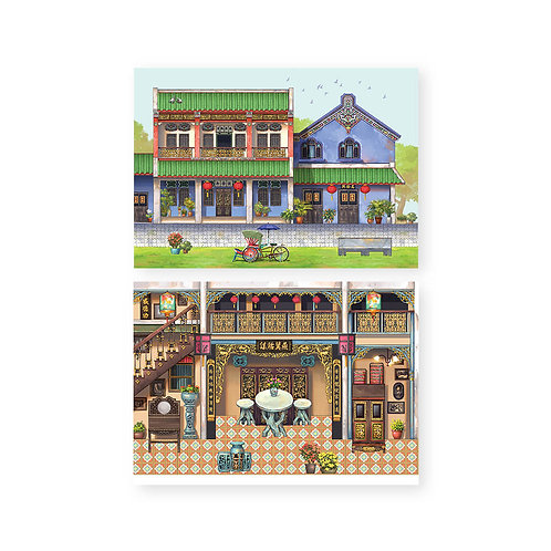 Loka Made | Pop Up Cards | Special Edition | The Whimsical Architecture