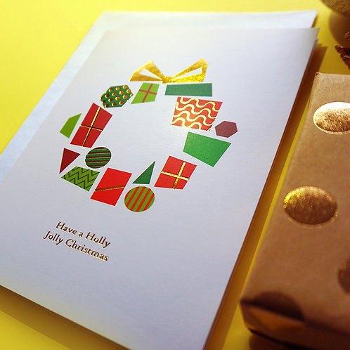 Salt x Paper | Greeting Card | Have a Holly Jolly Christmas
