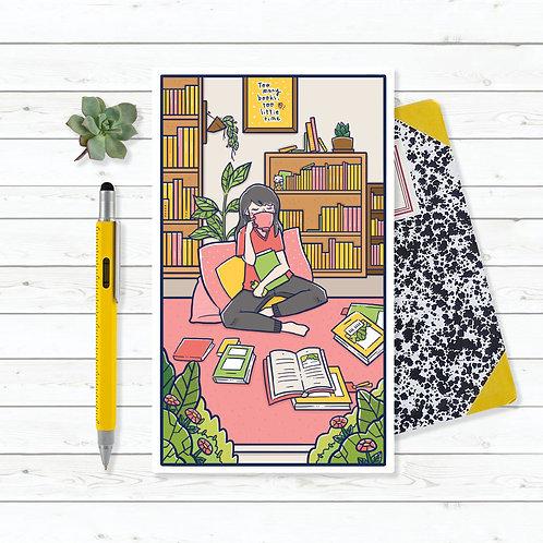 Azreenchan | Artprint | The Reader