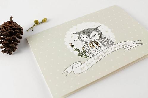 Whimsy Whimsical | Greeting Card | Woo Hoo Happy Birthday