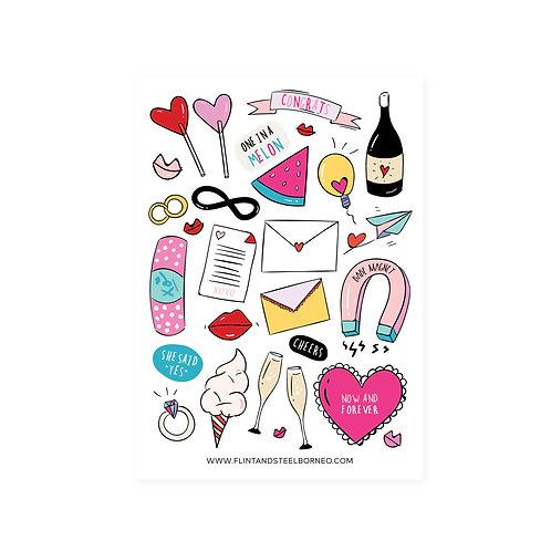 FS Stickers | Vday