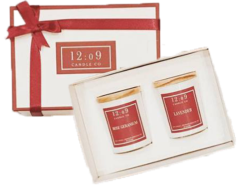 12:o9 Candle Co. | Scented Candle | Gift Box