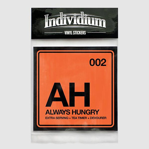Individium | Vinyl Sticker | AH