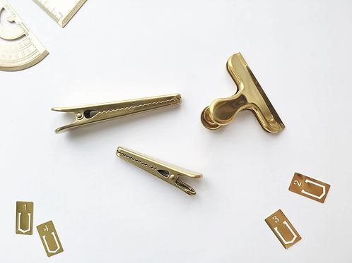 Paper Geek Co. | Gold Clip
