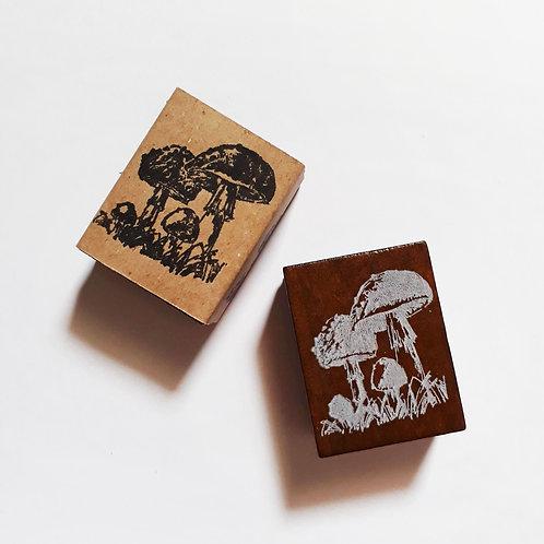 Paper Plans | Stamp | Mushrooms