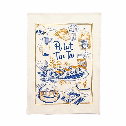 Bingka | Tea Towel | Pulut Tai Tai