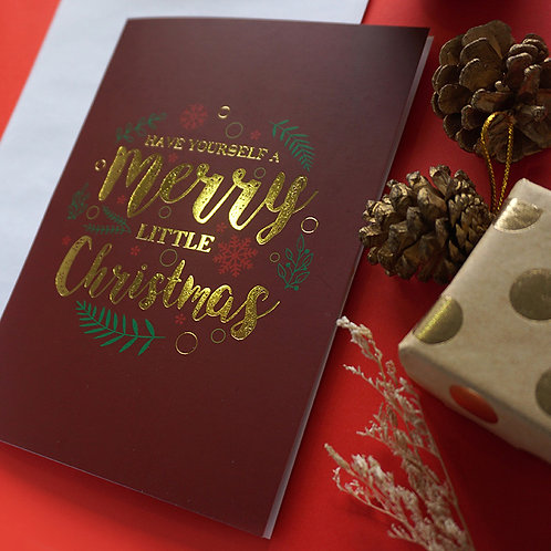 Salt x Paper | Greeting Card | Have Yourself a Merry Little Christmas