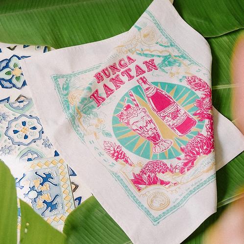 Bingka | Tea Towel | Bunga Kantan