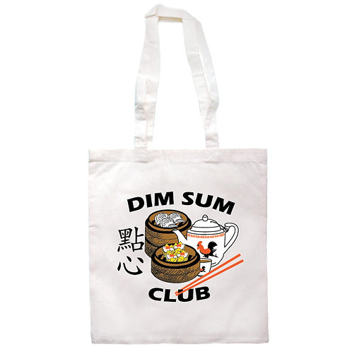 Home Too Much | Tote | Dim Sum Club