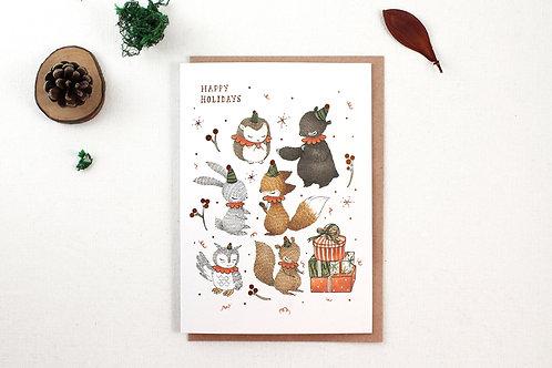 Whimsy Whimsical | Greeting Card | Christmas