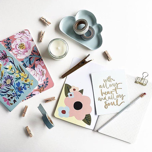 Paper Geek Co.   Notebooks   Floral
