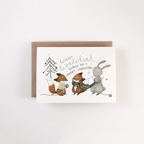 Whimsy Whimsical | Greeting Card | Winter Wonderland