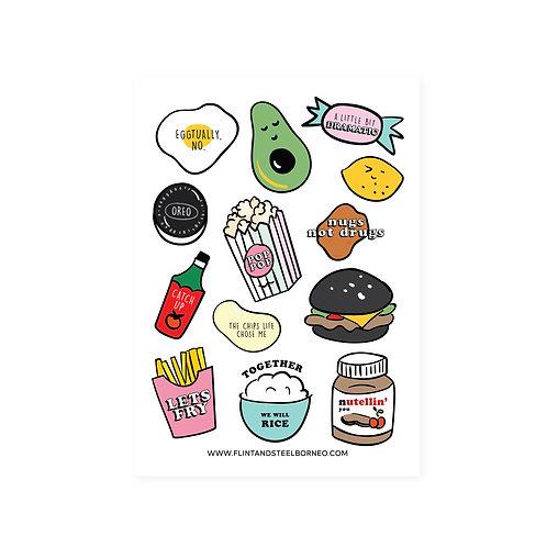 FS Stickers   Food Puns
