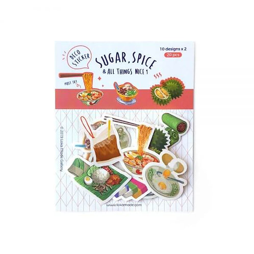 Loka Made | Deco Sticker | DS03 Sugar, Spice & All Things Nice 1