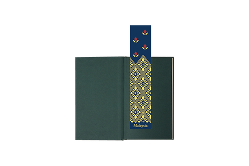 Life Design Studio | Bookmark | Songket Flower