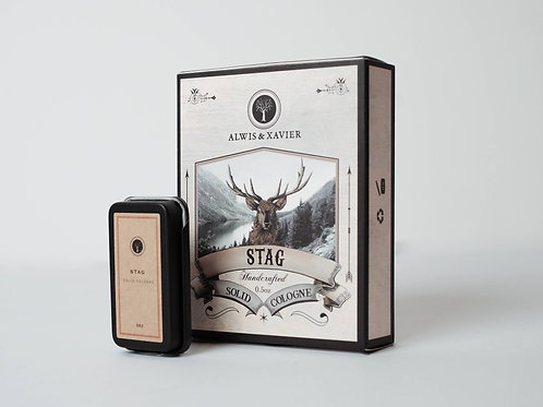 Alwis & Xavier | Solid Colognes | Stag