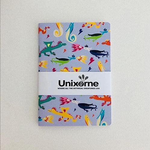 Unixorne | Notebook | A6 | Purple