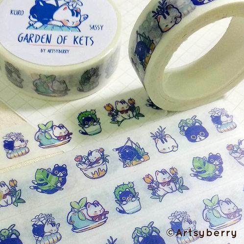 Artsyberry | Washi Tape | Garden of Kets