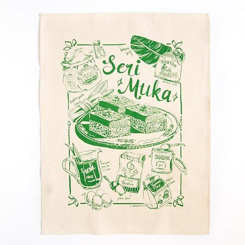 Bingka | Tea Towel | Kuih Seri Muka