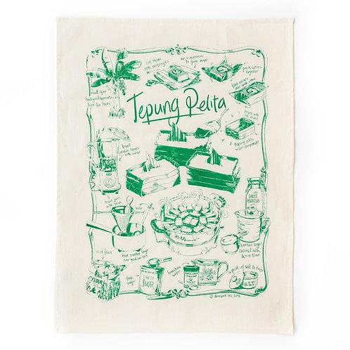 Bingka | Tea Towel | Tepung Pelita