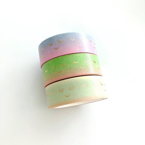 Paper Geek Co. | Washi Tape | Lashes Collection