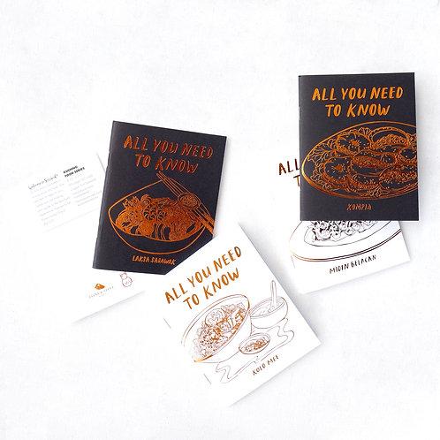 Nia Latif x FS | Notebooks | Food Series