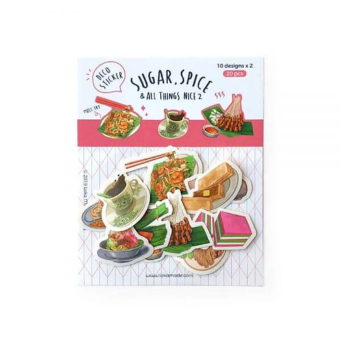 Loka Made | Deco Sticker | DS04 Sugar, Spice & All Things Nice 2