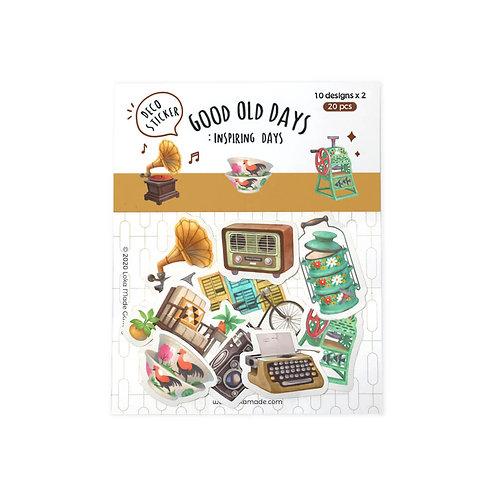 Loka Made | Deco Sticker | DS09 Good Old Days, Inspiring Days