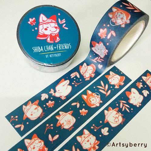 Artsyberry | Washi Tape | Shiba Chan & Friends