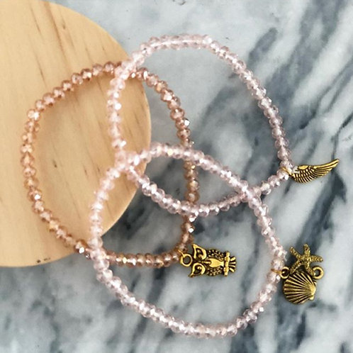 Unixorne | Assorted Bracelets with Charms