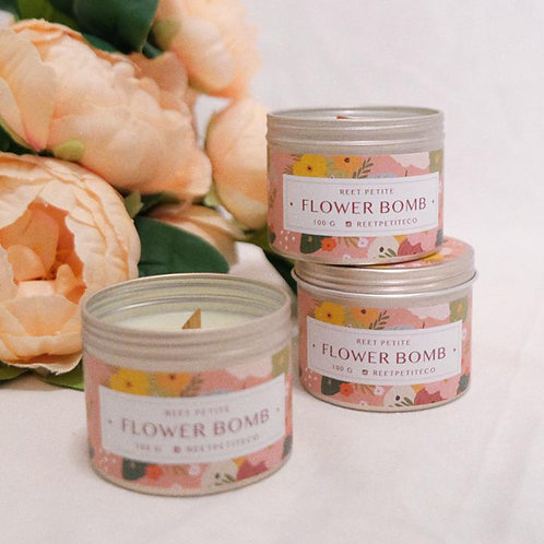 Reet Petite Candle Studio | Flower Bomb