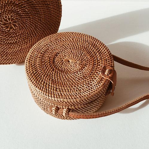 FS | Round Rattan Bags | L
