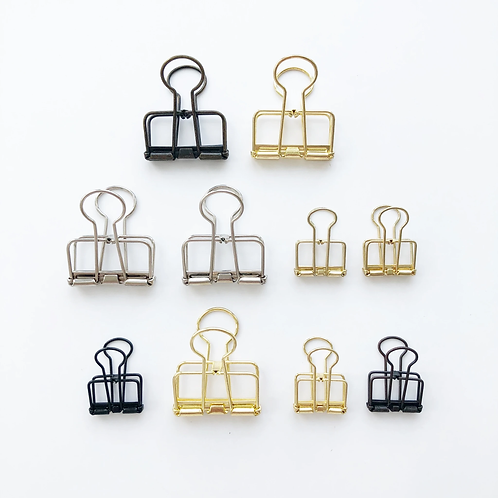 Paper Geek Co. | Binder Clips