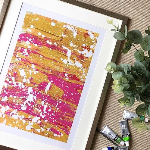 Unixorne | Art Print | Splatery Splater