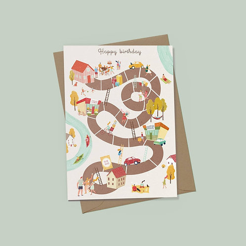 EJ Memento | Cards | Ladder Birthday Plan
