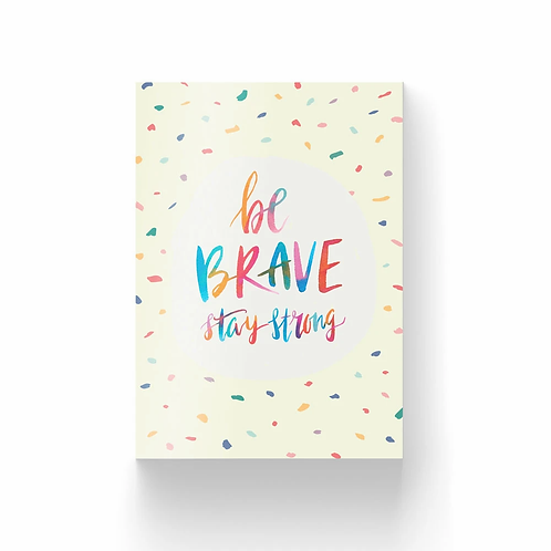The Brave Assembly | Postcard Collection #2 | Be Brave, Stay Strong