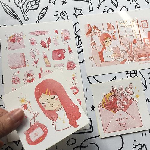 Azreenchan   Postcard Pack   May