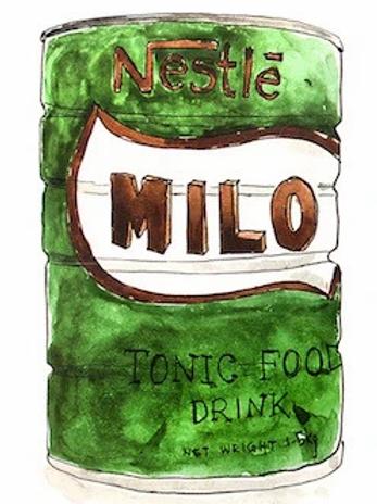 Stickerrific    Postcard   Milo
