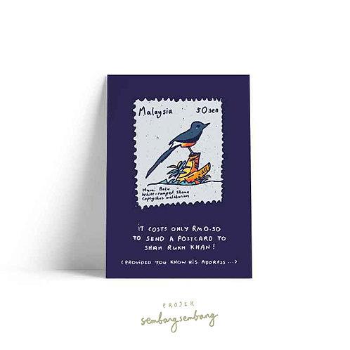 Projek Sembang Sembang | Postcards | Setem Burung