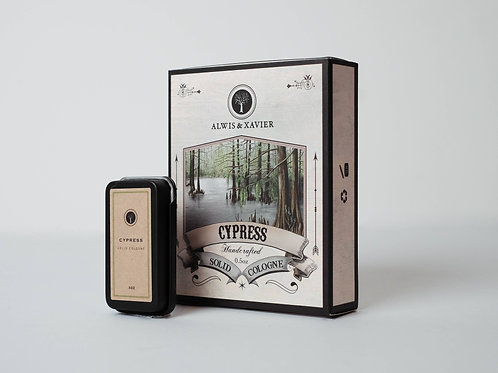 Alwis & Xavier | Solid Colognes | Cypress